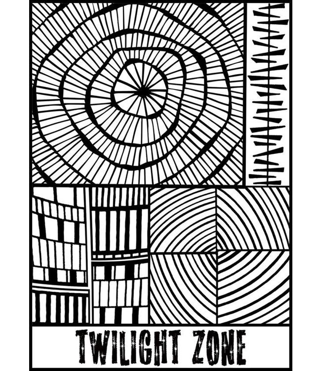 "Helen Breil Texture Stamp ""Twilight Zone"""