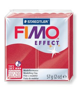 Fimo Effect Metallic Ruby Red (28) 2 oz - 57 g