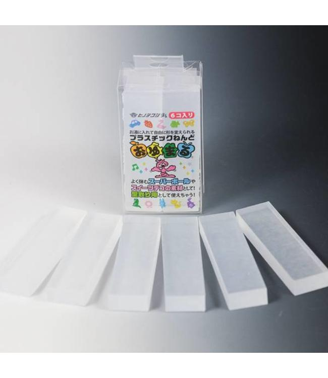 Mold Making Oyumaru Clear 6 stick pack