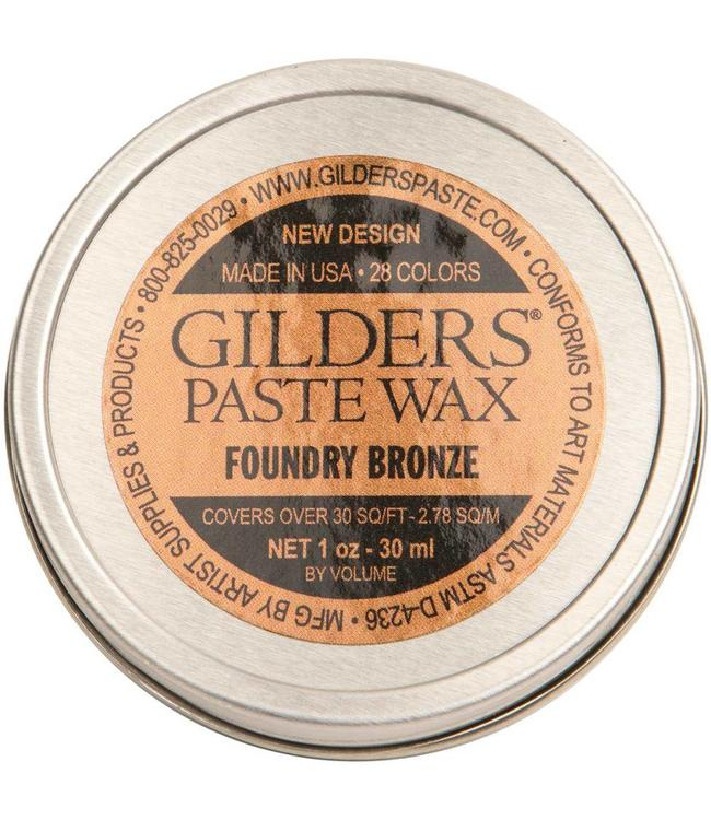 Gilders Paste Wax Foundry Bronze 30 ml.