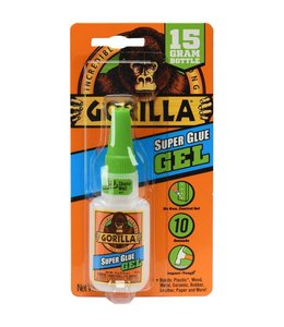 Gorilla Super Glue Gel 15 gram