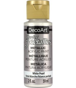 Dazzling Metallics Acrylic Paint White Pearl