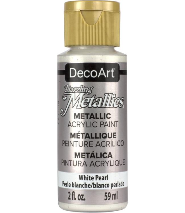 Dazzling Metallics Acryl Verf White Pearl