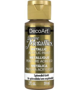 Dazzling Metallics Acrylic Paint Splendid Gold