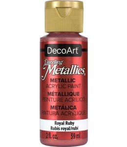 Dazzling Metallics Acrylic Paint Royal Ruby