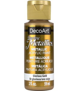 Dazzling Metallics Acrylic Paint Glorius Gold