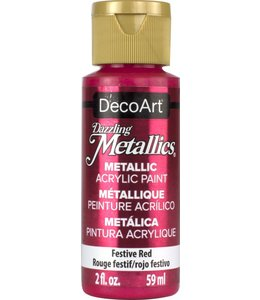 Dazzling Metallics Acrylic Paint Festive Red