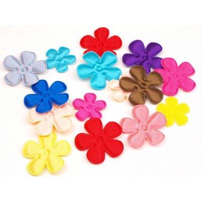 Satijnen Bloemen 35 mm.