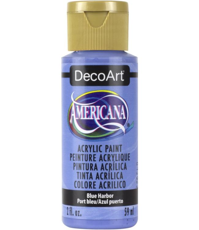 Americana Acrylic Paint Blue Harbor