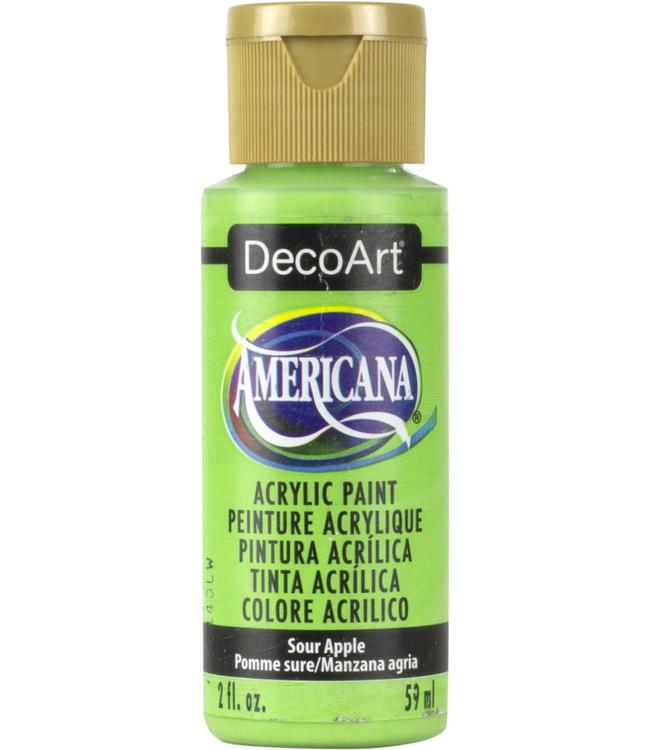 Americana Acrylic Paint Sour Apple