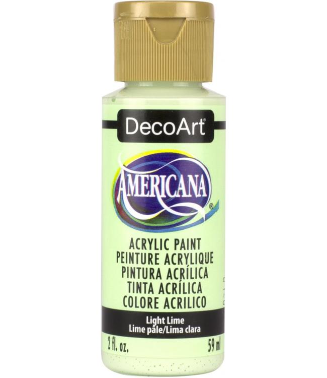 Americana Acrylic Paint Light Lime