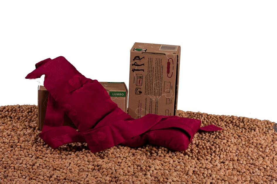 Kersenpitje Lumbo cherrystone pillow (13 x 55 cm)
