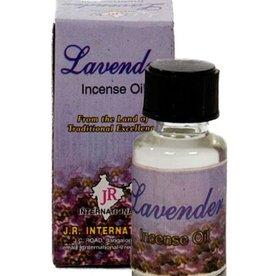 Smell oil lavender.
