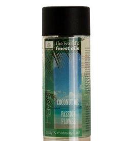 Jacob Hooy Body & massage oil Hawai Coconut / Passion Flower
