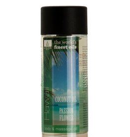 Jacob Hooy Body & massage olie Hawai Coconut/ Passion Flower