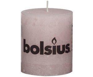 Licht Roze Kaarsen : Bolsius kaarsen stompkaars rustiek zacht roze lagripro