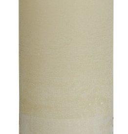Bolsius kaarsen Rustic pillar candle 190/68 Ivory