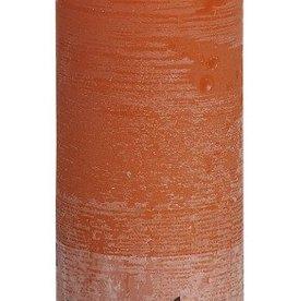 Bolsius kaarsen Rustic pillar candle 190/68 Orange