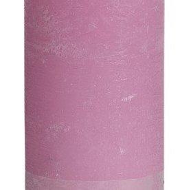 Bolsius kaarsen Rustic pillar candle 190/68 Roze