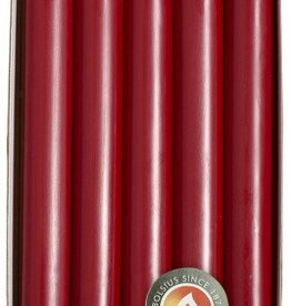 Bolsius kaarsen Diner candle 230/20 Wine red