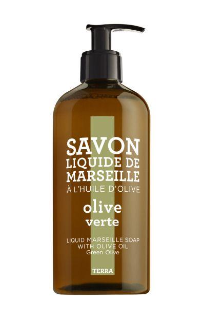 Compagnie de Provence Savon liquid hand soap green olive