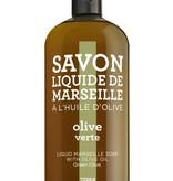 Compagnie de Provence Refill liquid Marseile zeep green olive