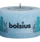 Bolsius kaarsen Outdoor rustic pillar candle 90/140 air