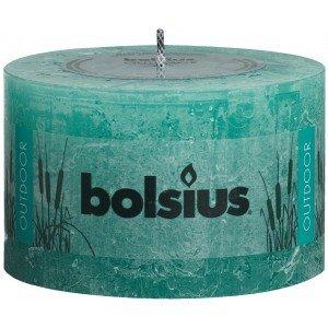 Bolsius kaarsen Outdoor rustic pillar candle 90/140 sea