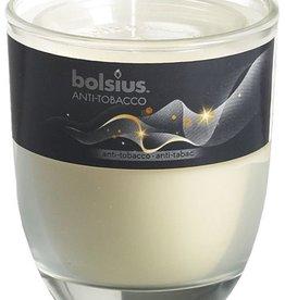 Bolsius kaarsen Anti-tobacco geurglas met deksel 80/70