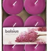 Bolsius kaarsen Scent maxi tea light 8 hours Lilac Blossom