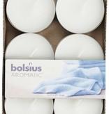 Bolsius kaarsen Scent maxi tea light 8 hours Fresh linen