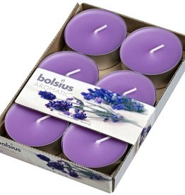 Bolsius kaarsen Scent maxi tea light 8 hours French lavender