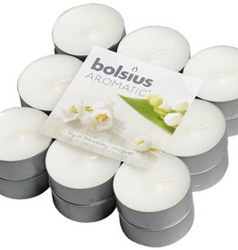 Bolsius kaarsen Scent tea light 4 hours Lily of the Valley