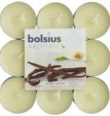 Bolsius kaarsen Vanilla fragrance tea light 4 hours