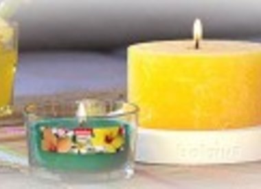 Outdoor candle