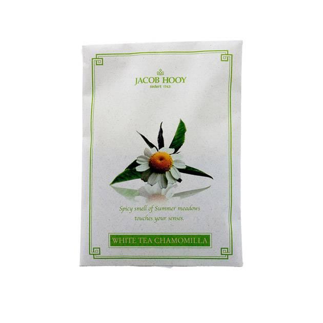 Jacob Hooy Oder bag white tea chamomilla.