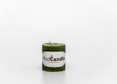 MadCandle candle cylinder small, Apple