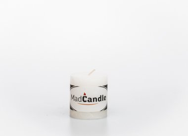MadCandle candle cylinder small, Jasmine