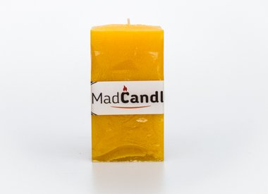MadCandle candle cube medium, Lemon
