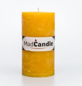 MadCandle candle oval large, Lemon