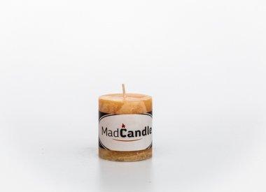 MadCandle candle cylinder small, Vanilla