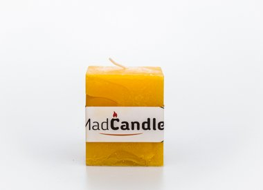 MadCandle candle cube small, Lemon