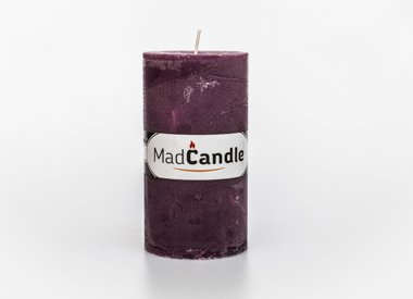 MadCandle candle oval large, Lavender