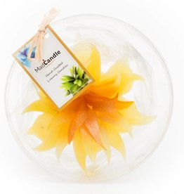 MadCandle Flower candle grande Lemon