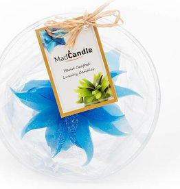 MadCandle Bloemenkaars medium katoen