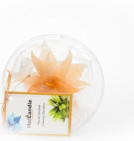 MadCandle Flower candle small Vanilla