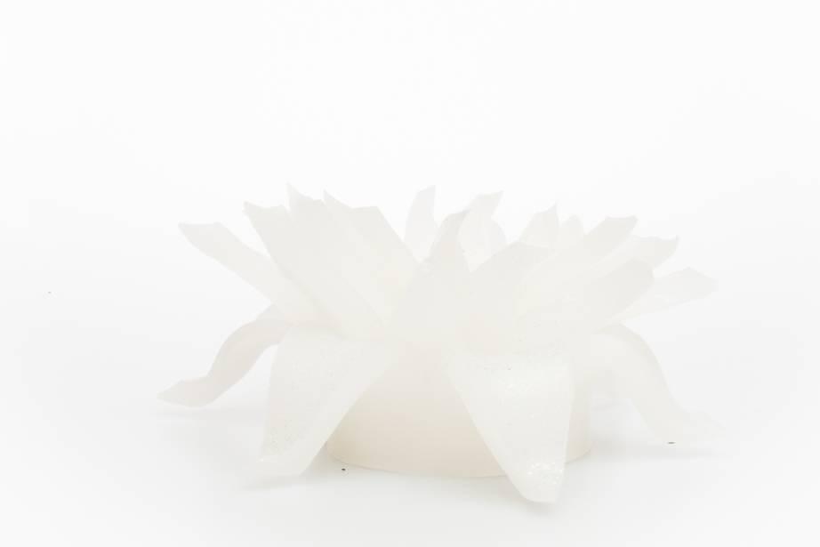 MadCandle Flower candle groot jasmijn