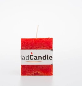 MadCandle Scented candle cube small orange