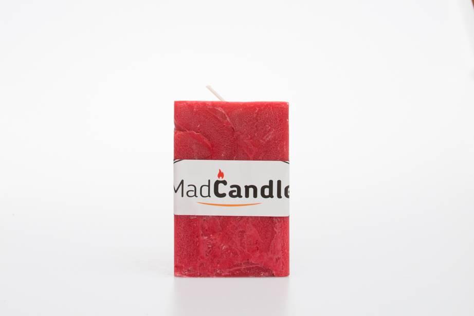 MadCandle Geurkaars kubus medium aardbei