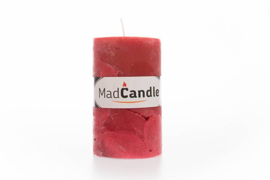 MadCandle Geurkaars ovaal medium aardbei